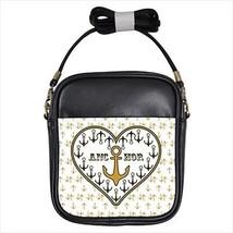 Love Is An Anchor Leather Sling Bag & Women's Handbag - $16.48+