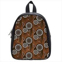 Tribal Brown Leather Kid's School Bag / Children's Backpack - $33.94+