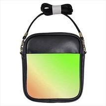 Orange Green Cross Leather Sling Bag & Women's Handbag - $16.48+