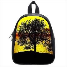 Sunset Tree Leather Kid's School Bag / Children's Backpack - $33.94+
