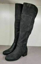 Vince Camuto Kreston Over-The-Knee Boot, Black Leather, Womens Various S... - £44.95 GBP