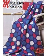 Medallion Afghan Annie's NEW Crochet Pattern - 30 Days To Shop & Pay! - $2.22