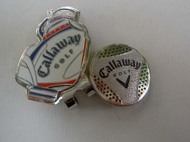 Callaway Red White and Blue Bag Style Hat Clip and Ball Marker - $12.95