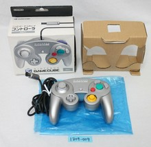 Nintendo Gamecube Controller Argento DOL-003 Lavoro Joypad con Scatola 1... - $50.92