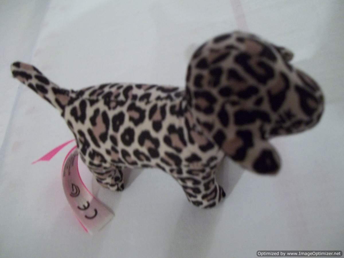 """Victoria's Secret """"Pink"""" Mini  Leopard Pattern Dog - Size: """"5.5 x 8"""""""