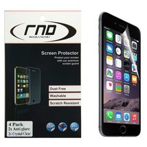 RND 4 Screen Protectors for Apple iPhone 6 Plus and 6S Plus (5.5 inch) (... - $7.99