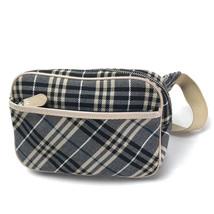 AUTHENTIC BURBERRY BLUE LABEL Checkered Waist Pouch Hip Bag Body Bag Beige - $341.52 CAD