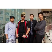 Entourage Boys Together Standing on Stairs 8 x 10 Inch Photo - $7.99