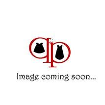 Bonnie Jean Little Girl 2T-6X Pink/Black Knit to Eyelash Ruffle Drop Waist Dress
