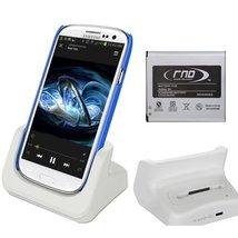RND Dock + 2600mAh NFC Standard Battery for Samsung Galaxy S4 (compatibl... - $29.99