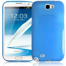 RND TPU Protective Case for Samsung Galaxy Note II (2) (Transparent Blue) - $5.99