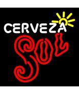 Cerveza Sol Sun Rays Neon Sign - $699.00