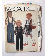 McCall's 8464 Size 12 Girls' Skirts Culottes - $11.64