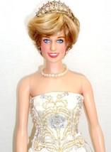 "Franklin Mint Princess Diana 16"" Vinyl Doll Auc... - $187.95"