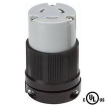 NEMA L6-20 Grounding Locking Connector, 20A 250V AC, 2 Pole 3 Wire, cUL ... - $10.99