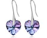 Ski heart dangle drop earrings fashion brincos earring female high quality jewelry thumb155 crop