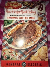 How To Enjoy Speed Cooking With Your New General Electric Range Booklet ... - $13.56