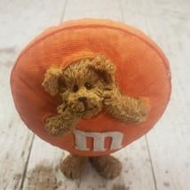 "M&M Boyds Bear Orange Peeker Resin Figurine 228471MM 4.25"" High 2005 - $14.95"