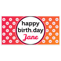 Music Social Media Birthday Banner Party Decoration Backdrop - £17.23 GBP+