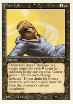 Magic: The Gathering 3rd Edition - Drain Life - $0.25