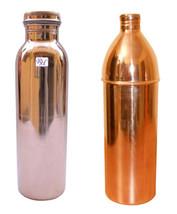 Storage Drink Water Set Copper Home Kitchen Water Bottle Set Of 2 Drink ... - $32.81