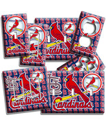 ST LOUIS CARDINALS BASEBALL TEAM LOGO LIGHT SWITCH OUTLET COVER WALL PLA... - $8.09+