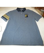 Men's Tommy Hilfiger Short Sleeve Polo shirt L Custom Fit 78B7123 424 Blue - $40.09