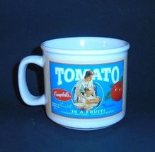 Campbell Soup Collectibles Tomato Is A Fruit Soup Ceramic Mug Sunny Good... - $9.37