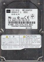 MK1926FCV, C1/S0.11A, HDD2517 L ZE01, Toshiba 814MB IDE 2.5 Hard Drive