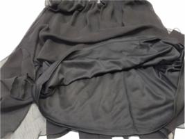 NWT NEW Women Black Express Spaghetti Strap Summer Mini Slip Dress Size S image 4