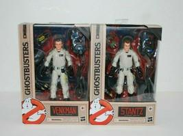 "Hasbro Ghostbusters Plasma Series Venkman and Stantz 6"" Action Figures L... - $37.11"