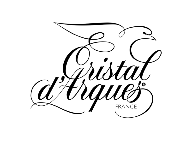 1 (One) CRISTAL D'ARQUES VENISE SAPHIR COURVOISIER Crystal Brandy Snifter image 5