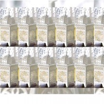12 Lot White Moroccan Marrakech Lantern Candle Holder Wedding Centerpieces - $97.78