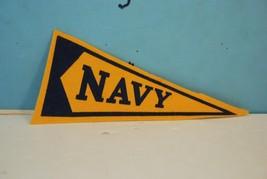 Vintage Navy Midshipment Felt Pennant Naval Academy 1950's - $15.80