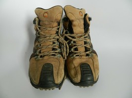 Mens Merrell Waterproof Continuum Vibram Tan Boots Size 10.5 - $32.99
