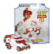 Hot Wheels Toy Story 4 Duke Caboom Character Cars 7/8 Mint on Card - $12.88