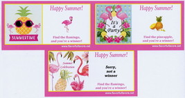 10 Flamingo and Pineapple or Luau party favors ... - $5.00