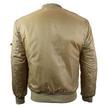Men's Premium Multi Pocket Water Resistant Padded Zip Up Flight Bomber Jacket image 3