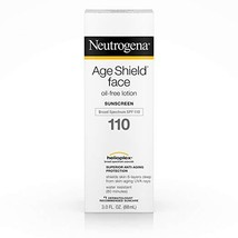 Neutrogena Age Shield Face Oil-Free Lotion Sunscreen Broad Spectrum SPF 110, 3 F - $8.99
