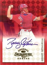 1998 donruss signature bobby estalella autograph phillies baseball card - $4.99