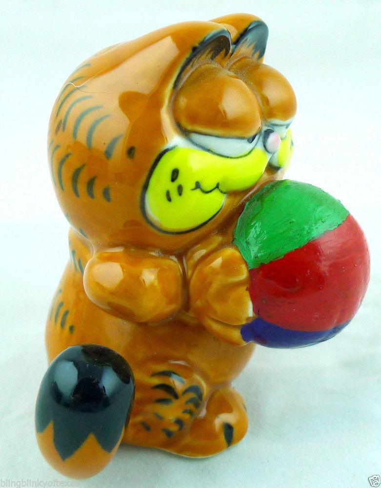 Garfield Cat Ceramic Figurine Enesco 1981 image 2