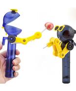 Newest Creative Kids Lollipop Robot Holder Decompression Candy Dustproof... - £8.82 GBP