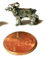 Cocker Spaniel Dog FINE PEWTER PENDANT CHARM - 5x14.5x14mm image 3