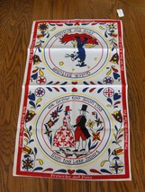 Pennsylvania Dutch Towel Kitchen Linen With Sayings on It - $19.97