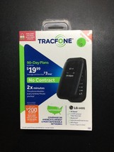 LG 440G - Black (TracFone) Cellular Phone Brand New Sealed Activation Issue - $30.86