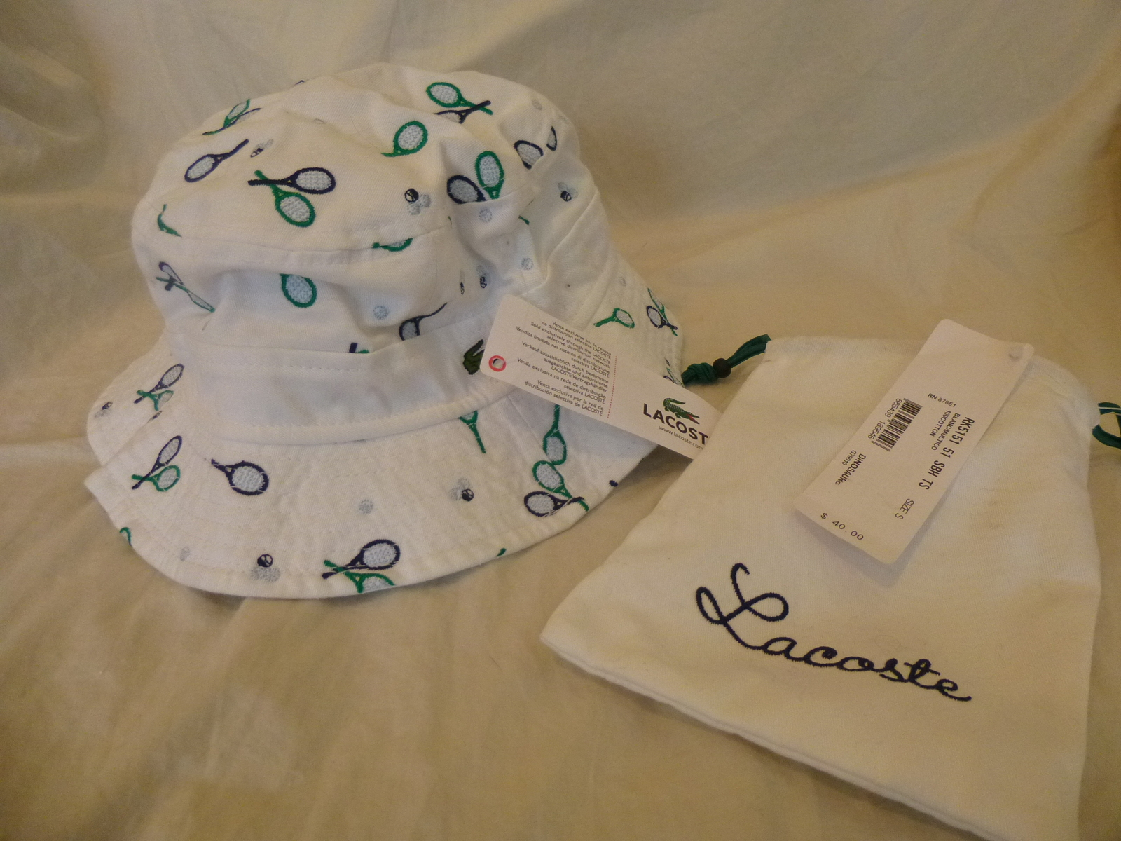 d02c083cd66 Kids Lacoste Bucket Hat~White~Tennis and 20 similar items. P1090891