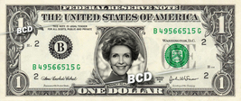 NANCY REAGAN on REAL Dollar Bill Cash Money Memorabilia Collectible Cele... - $4.44