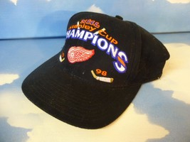RARE Detroit Red Wings NHL 1998 Stanley Cup Champions Cap Hat ~Mint Cond... - $20.90