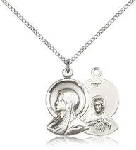 MADONNA MEDAL-- Sterling Silver - 0020 - $53.99