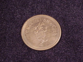Cheerful 50's Club 50 Cent Token, from The Cheerful Tortoise Bar, Portla... - $6.95